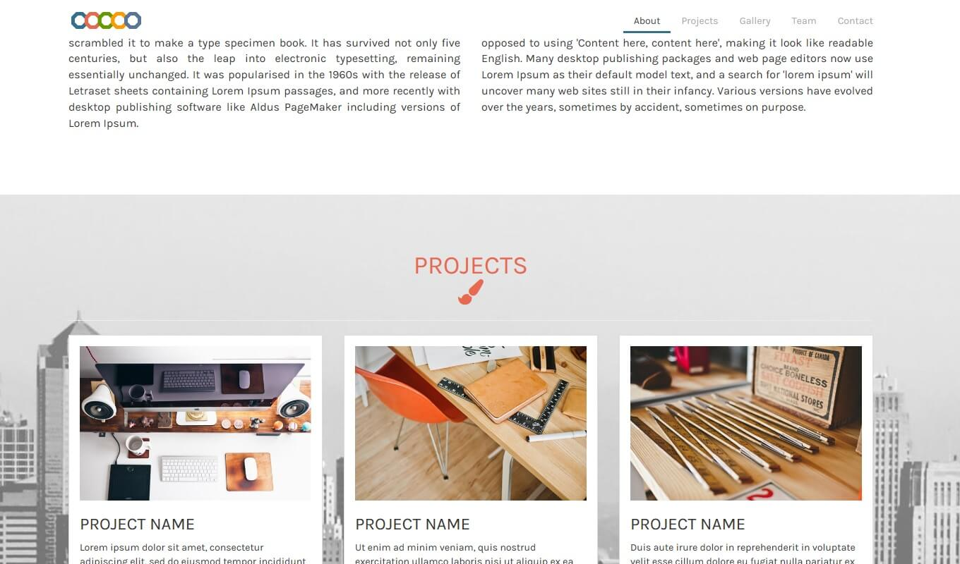 Roah Single Page - A multi-purpose single page theme