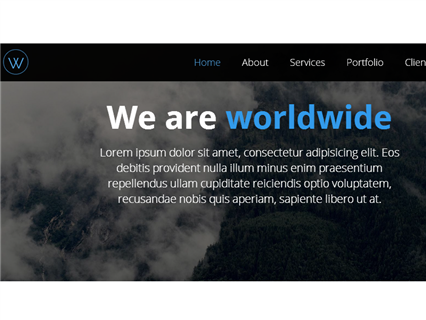 worldwide - Responsive Page
